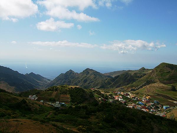 Faszinierende Berglandschaft der kanarischen Inseln