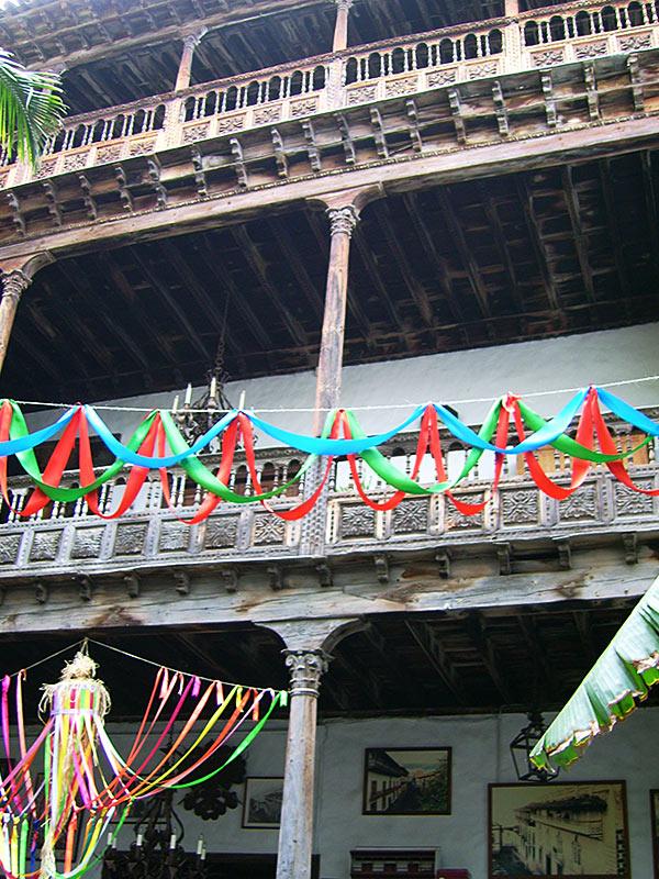 Die bekannten Balkone in Orotava