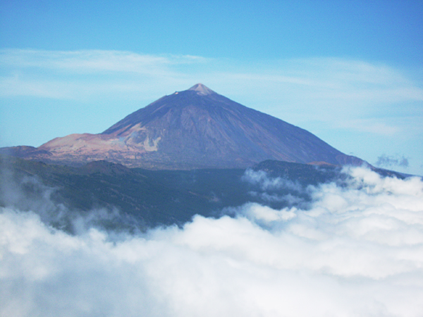 Der Teide von Teneriffa