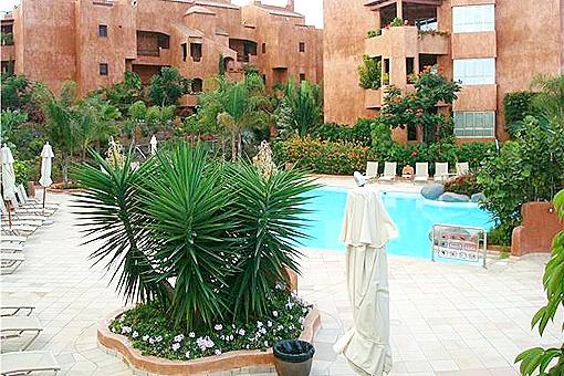 Bahia de los Menceyes- Wohnung mit Pool in Palm Mar