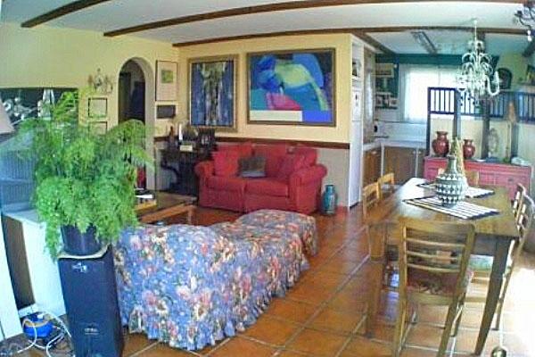 Andere Ansicht des Wohnzimmers