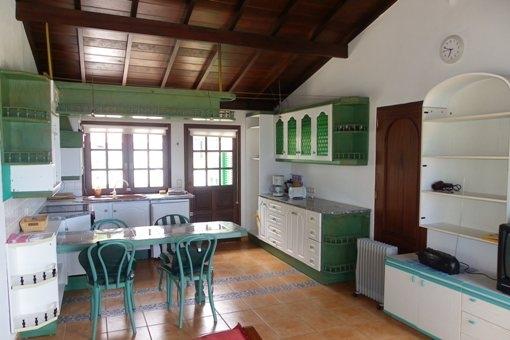 Küche eines der Appartements