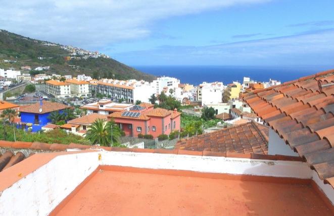 Dachterrasse mit Ausblick auf den Atlantik