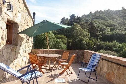 Ökologische stilvolle Finca mit 3 Ferienwohnungen und eigener Energie- und Wasserversorgung in El Sauzal