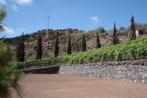 Der private Tennisplatz