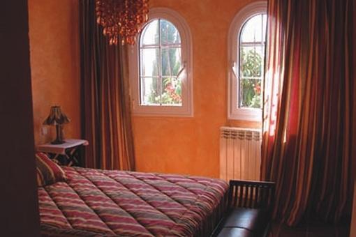 Das elegante Schlafzimmer