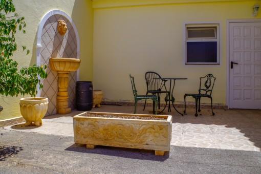 Wundervoller Patio mit Lounge area - Gestehaus