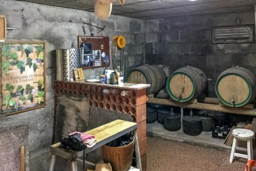 Eigener Weinkeller