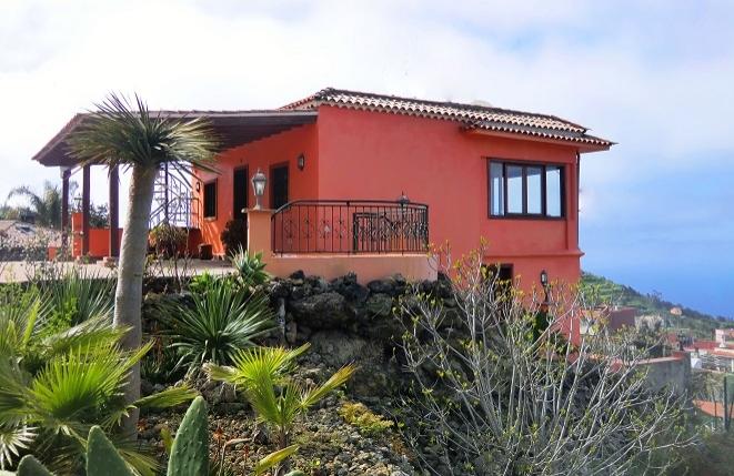 Finca mit Gästeapartment, großem Grundstück und traumhaftem Ausblick auf die Nordküste Teneriffas