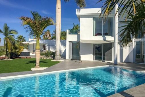 Traumhafte Villa direkt am Golfplatz Costa Adeje