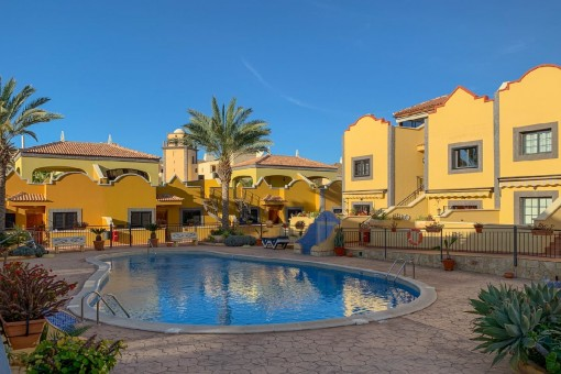 Großes Haus im mediterranen Stil in bester Lage in Costa Adeje