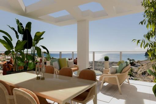 Neuer Luxuswohntraum mit Meerbrise