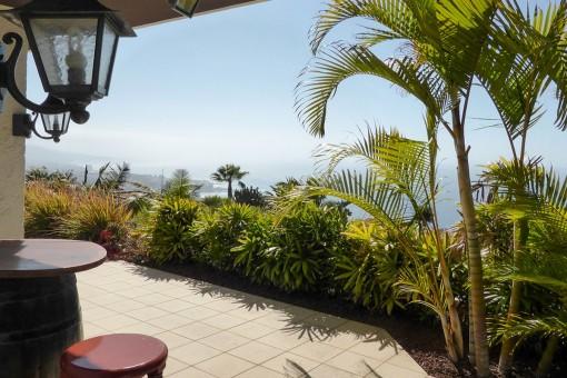 Gepflegte Villa mit Meer- und Bergblick in Santa Ursula ´