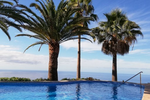 Einzigartige Villa mit Meerblick und großem Garten in Los Menores