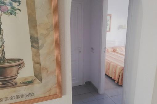 Zugang zum Schlafzimmer