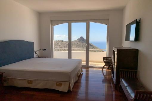 Die Villa verfügt über 4 Schlafzimmer