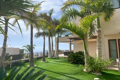 Schöne Villa mit privatem Pool und Blick in Adeje, Teneriffa Süd