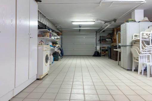 Praktische Garage
