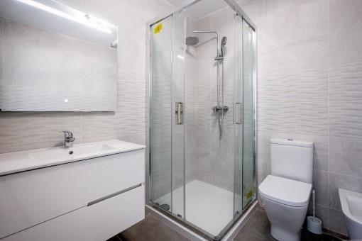 Badezimmer des Chalets