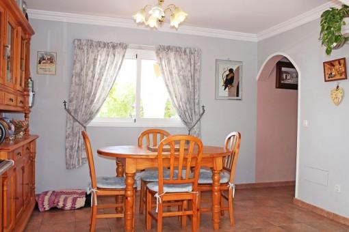 Essbereich des Hauses