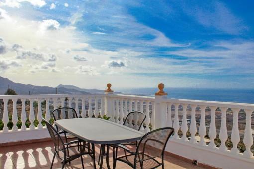 Schönes Haus mit herrlichem Meerblick in Adeje