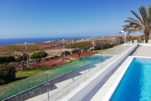 Schöne Villa mit Meerblick in Adeje, Teneriffa Süd