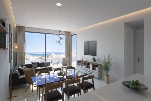 Neubauprojekt mit Designerwohnungen in Puerto de la Cruz