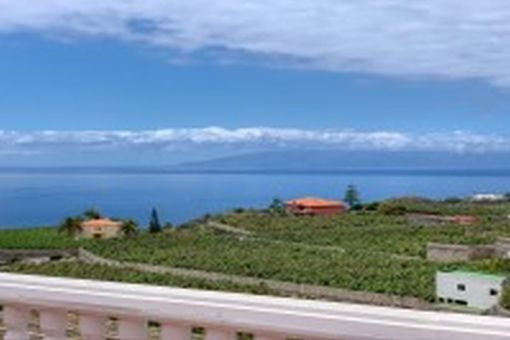Großes Villa Grundstück mit fantastischem Meerblick in unmittelbarer Nähe von Los Gigantes