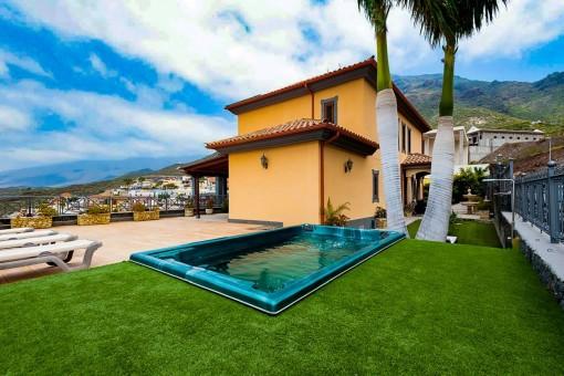Wunderbare Villa mit Meerblick in Costa Adeje