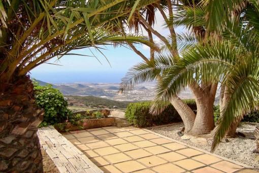 Terrasse und Blick