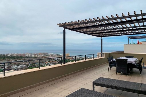 Unglaubliche Wohnung mit herrlichem Meerblick in San Eugenio