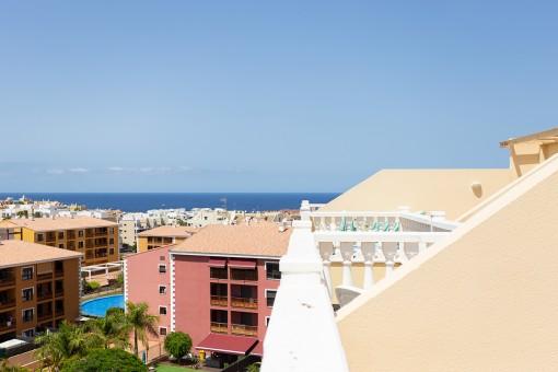 Schönes Penthouse in Strandnähe in Palm Mar, Teneriffa Süd