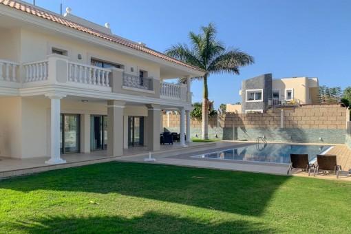 Luxusvilla in Costa Adeje Golf mit schöner Aussicht