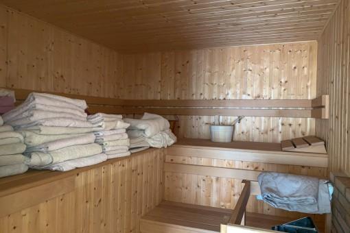 Fantastische Sauna
