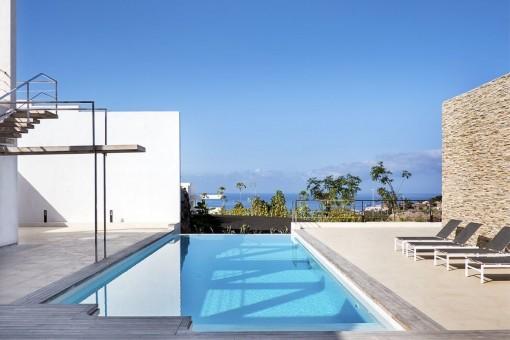 Hervorragende Villa mit einzigartigem Stil und toller Aussicht an der exklusiven Costa Adeje
