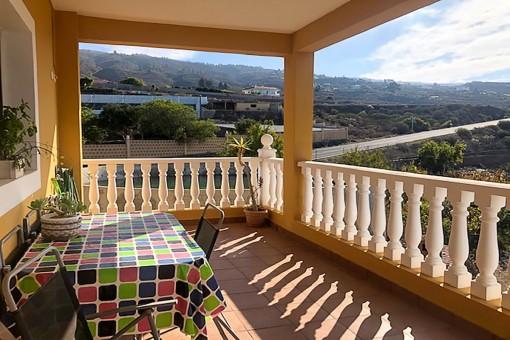 Einladende Terrasse