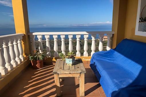 Finca mit Pool in Guía de Isora mit spektakulärer Aussicht
