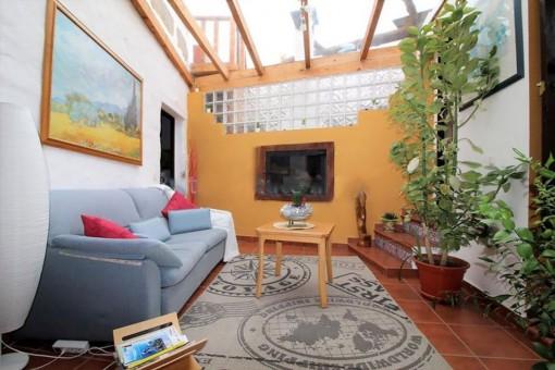 Schönes, authentisches, kanarisches Haus in Chirche