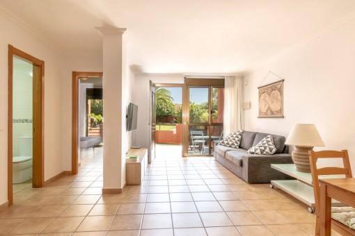 Hübsche Erdgeschosswohnung mit Terrasse in La Tejita