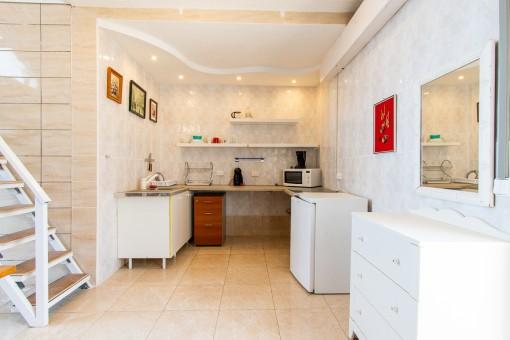 Küche des Studios
