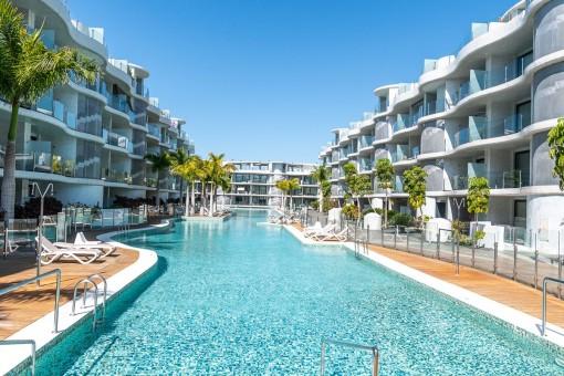2-Schlafzimmer-Wohnung in Las Olas - Palm Mar