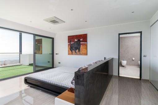 Eines von 4 Schlafzimmern
