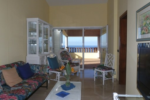 Das zweite Wohnzimmer zur separaten Entfaltung
