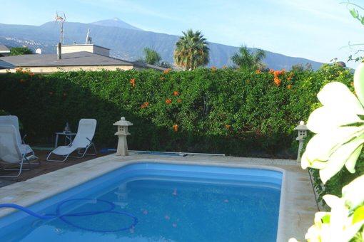 Neuwertige Villa mit sehr guter Ausstattung am Stadtrand von Puerto
