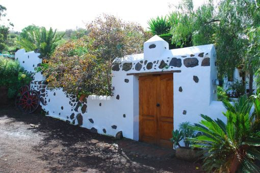 Die Außenansicht der Villa