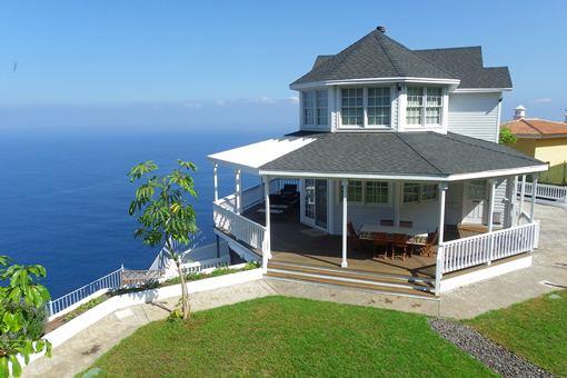 Moderne Villa mit Turm und Ausnahmemeerblick in erster Linie von Santa Úrsula