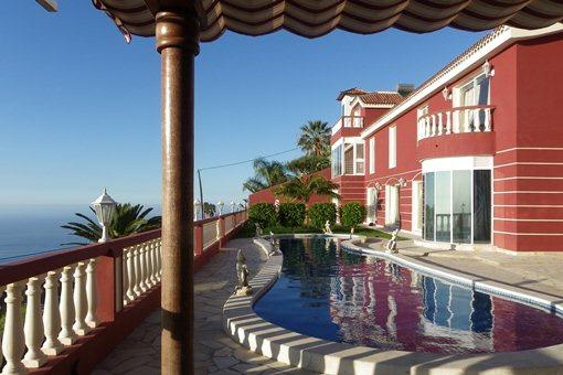 Repräsentative Villa am Orotavatal mit 5 Schlafzimmern und Humboldt-Meerblick
