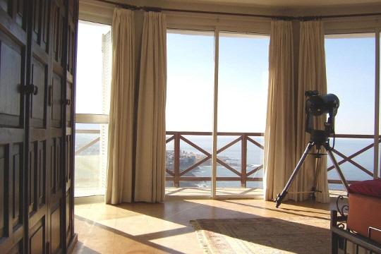 Unvergleichliche Aussicht auf Puerto de la Cruz, Teide und Meer