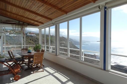 Das 1A-Panorama direkt aus dem Haus