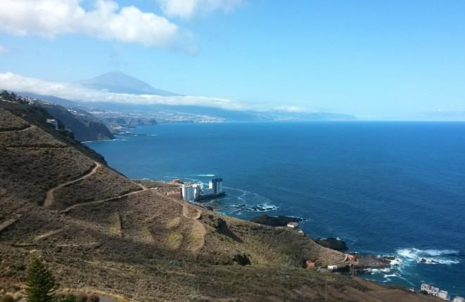 Nahe El Pris und Mesa del Mar, Tacoronte:  Maritimes Juwel in herausragender Lage mit Teide- und Meerblick